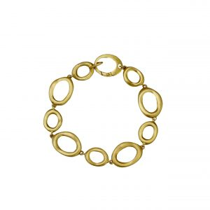 Armband Gelbgold, kreatives Design